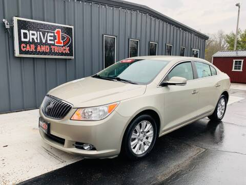 2013 Buick LaCrosse Leather for sale at Drive 1 Car & Truck in Springfield OH