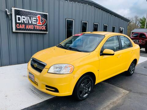 2009 Chevrolet Aveo LT for sale at Drive 1 Car & Truck in Springfield OH