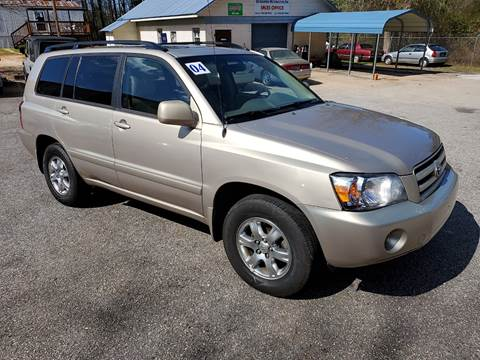 2004 Toyota Highlander for sale at PRESTON DIVERSIFIED AUTO INC in Athens GA