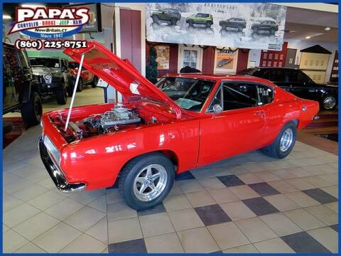 1968 Plymouth Barracuda for sale at Papas Chrysler Dodge Jeep Ram in New Britain CT