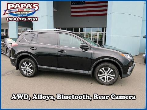 2017 Toyota RAV4 LE for sale at Rob at Papas Jeep Ram in New Britain CT