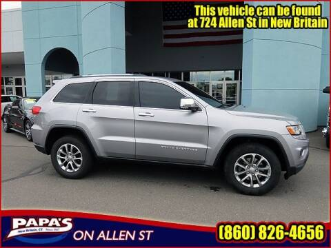 2015 Jeep Grand Cherokee Limited for sale at Rob at Papas Jeep Ram in New Britain CT