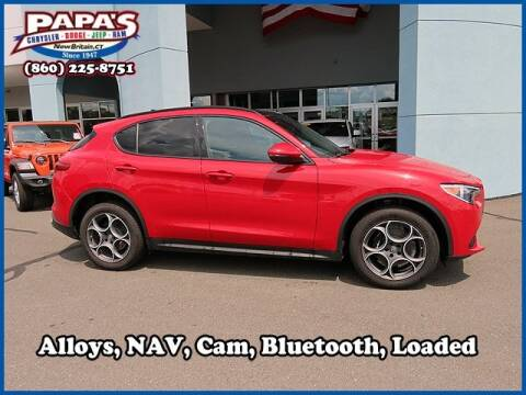 2018 Alfa Romeo Stelvio for sale at Papas Chrysler Dodge Jeep Ram in New Britain CT