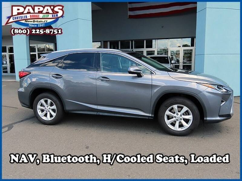 2017 Lexus RX 350 for sale at Papas Chrysler Dodge Jeep Ram in New Britain CT