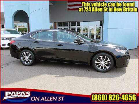 2017 Acura TLX for sale at Papas Chrysler Dodge Jeep Ram in New Britain CT