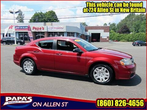 2014 Dodge Avenger for sale at Papas Chrysler Dodge Jeep Ram in New Britain CT