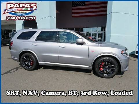 2019 Dodge Durango for sale at Papas Chrysler Dodge Jeep Ram in New Britain CT