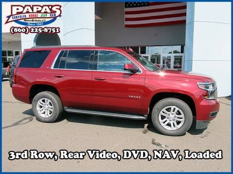 2019 Chevrolet Tahoe for sale at Papas Chrysler Dodge Jeep Ram in New Britain CT