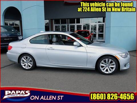 2013 BMW 3 Series for sale at Papas Chrysler Dodge Jeep Ram in New Britain CT