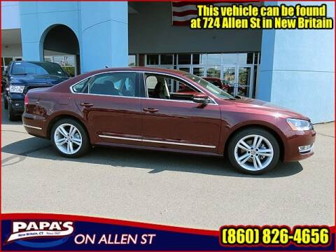 2013 Volkswagen Passat for sale at Papas Chrysler Dodge Jeep Ram in New Britain CT