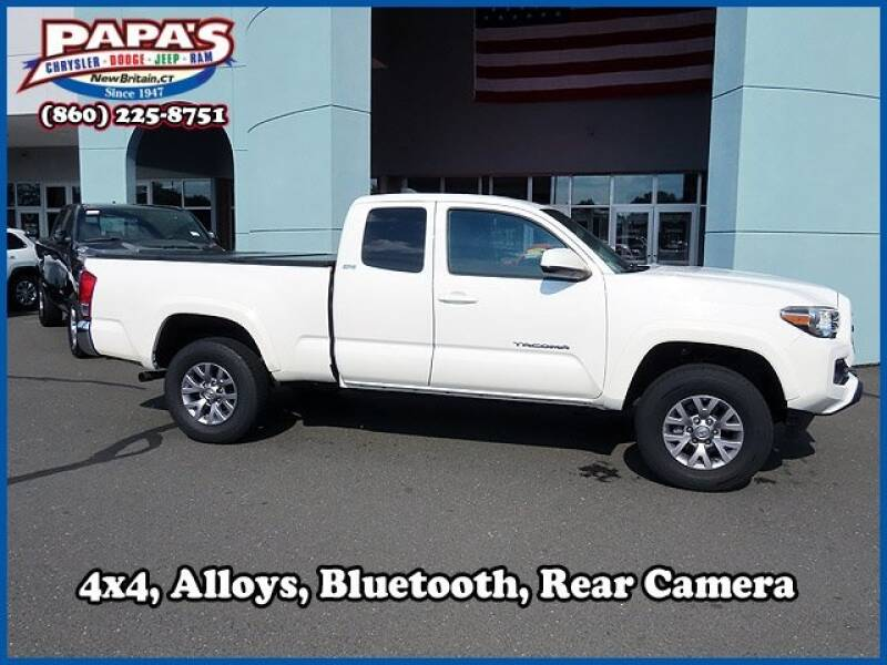 2017 Toyota Tacoma for sale at Papas Chrysler Dodge Jeep Ram in New Britain CT