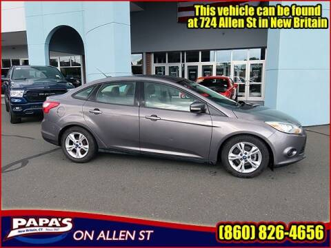 2014 Ford Focus for sale at Papas Chrysler Dodge Jeep Ram in New Britain CT