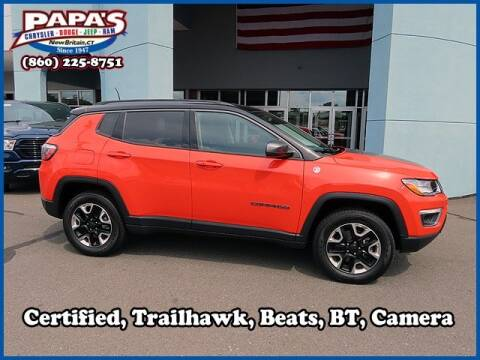 2017 Jeep Compass for sale at Papas Chrysler Dodge Jeep Ram in New Britain CT