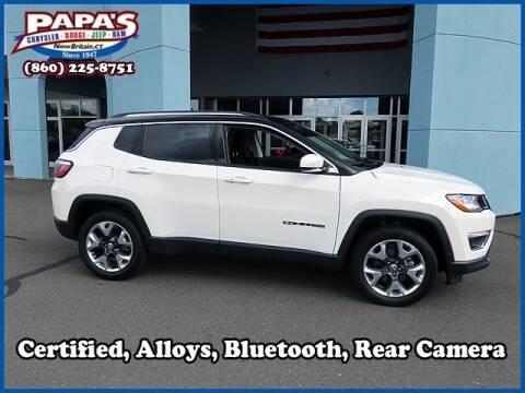 2018 Jeep Compass for sale at Papas Chrysler Dodge Jeep Ram in New Britain CT