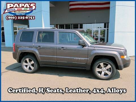 2017 Jeep Patriot for sale at Papas Chrysler Dodge Jeep Ram in New Britain CT