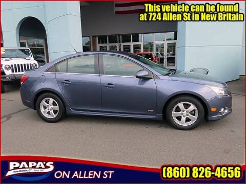 2013 Chevrolet Cruze for sale at Papas Chrysler Dodge Jeep Ram in New Britain CT