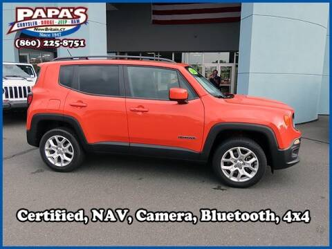 2017 Jeep Renegade for sale at Papas Chrysler Dodge Jeep Ram in New Britain CT