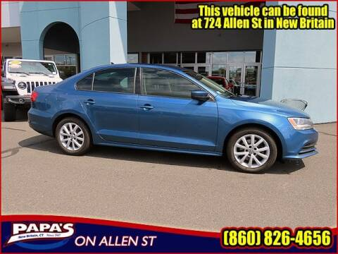 2015 Volkswagen Jetta for sale at Papas Chrysler Dodge Jeep Ram in New Britain CT
