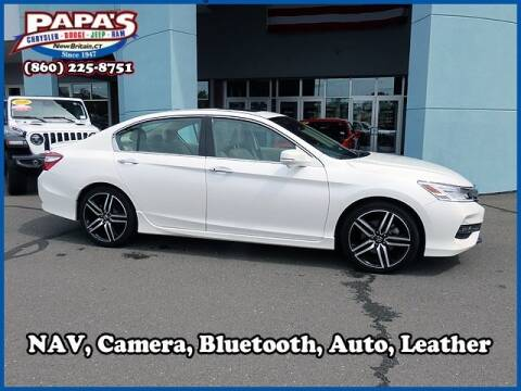 2017 Honda Accord for sale at Papas Chrysler Dodge Jeep Ram in New Britain CT