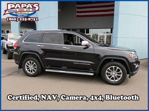 2016 Jeep Grand Cherokee for sale at Papas Chrysler Dodge Jeep Ram in New Britain CT
