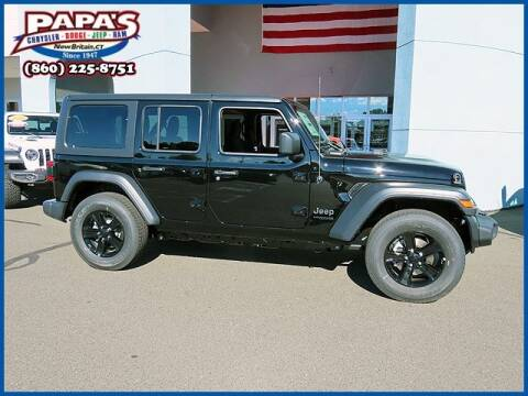 2020 Jeep Wrangler Unlimited for sale at Papas Chrysler Dodge Jeep Ram in New Britain CT