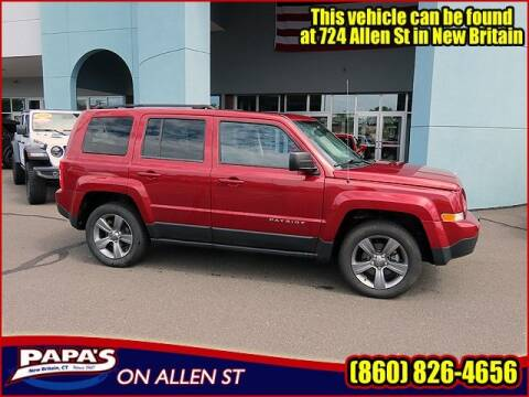 2015 Jeep Patriot for sale at Papas Chrysler Dodge Jeep Ram in New Britain CT