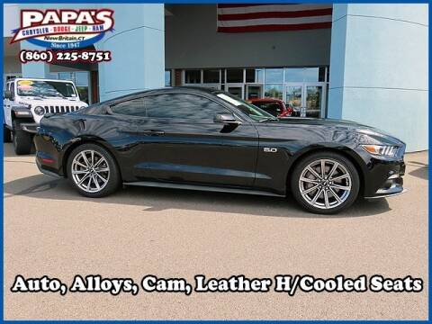 2016 Ford Mustang for sale at Papas Chrysler Dodge Jeep Ram in New Britain CT