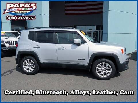 2015 Jeep Renegade for sale at Papas Chrysler Dodge Jeep Ram in New Britain CT