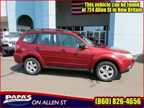2012 Subaru Forester for sale at Papas Chrysler Dodge Jeep Ram in New Britain CT