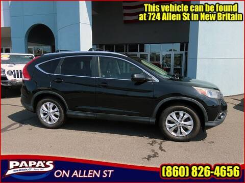 2012 Honda CR-V for sale at Papas Chrysler Dodge Jeep Ram in New Britain CT