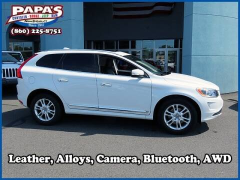 2016 Volvo XC60 for sale at Papas Chrysler Dodge Jeep Ram in New Britain CT