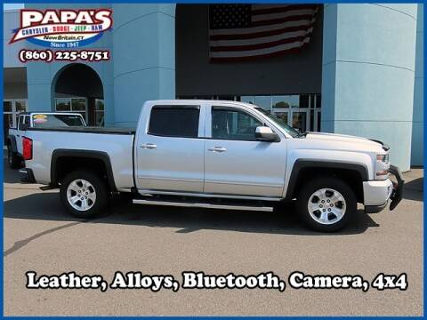 2018 Chevrolet Silverado 1500 for sale at Papas Chrysler Dodge Jeep Ram in New Britain CT