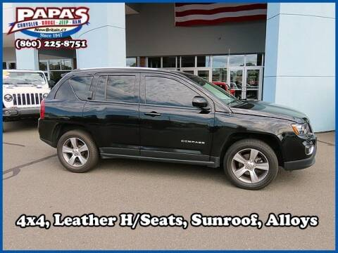 2016 Jeep Compass for sale at Papas Chrysler Dodge Jeep Ram in New Britain CT