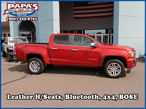 2016 GMC Canyon for sale at Papas Chrysler Dodge Jeep Ram in New Britain CT