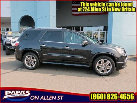2012 GMC Acadia for sale at Papas Chrysler Dodge Jeep Ram in New Britain CT