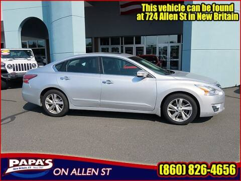 2015 Nissan Altima for sale at Papas Chrysler Dodge Jeep Ram in New Britain CT