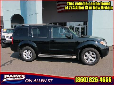 2011 Nissan Pathfinder for sale at Papas Chrysler Dodge Jeep Ram in New Britain CT