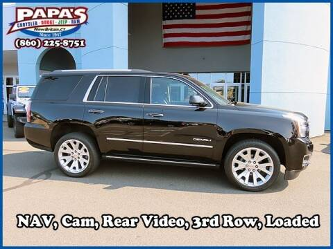 2017 GMC Yukon for sale at Papas Chrysler Dodge Jeep Ram in New Britain CT
