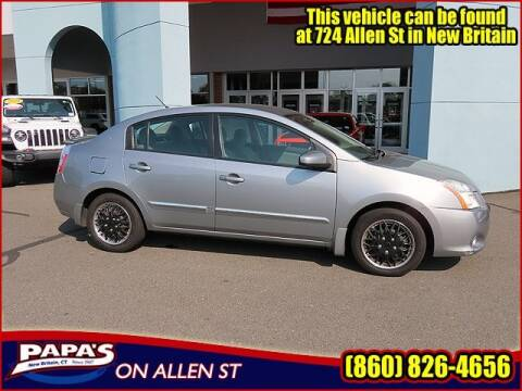 2011 Nissan Sentra for sale at Papas Chrysler Dodge Jeep Ram in New Britain CT
