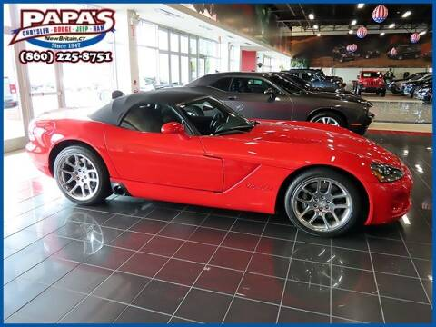 2003 Dodge Viper for sale at Papas Chrysler Dodge Jeep Ram in New Britain CT