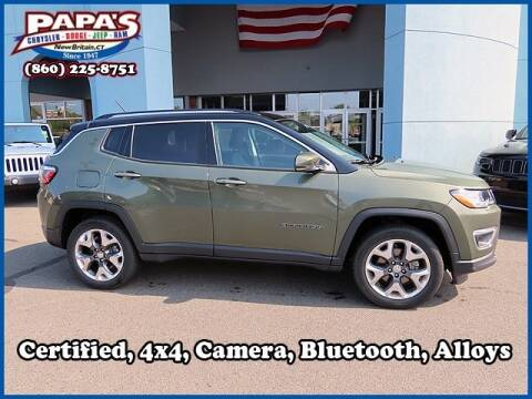 2019 Jeep Compass for sale at Papas Chrysler Dodge Jeep Ram in New Britain CT