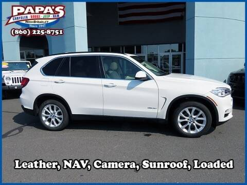 2016 BMW X5 for sale at Papas Chrysler Dodge Jeep Ram in New Britain CT