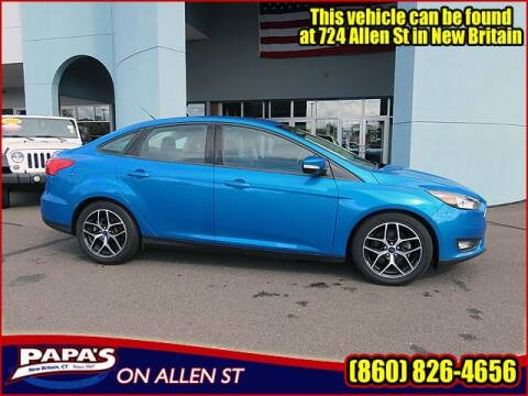2017 Ford Focus for sale at Papas Chrysler Dodge Jeep Ram in New Britain CT