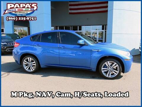 2013 BMW X6 M for sale at Papas Chrysler Dodge Jeep Ram in New Britain CT