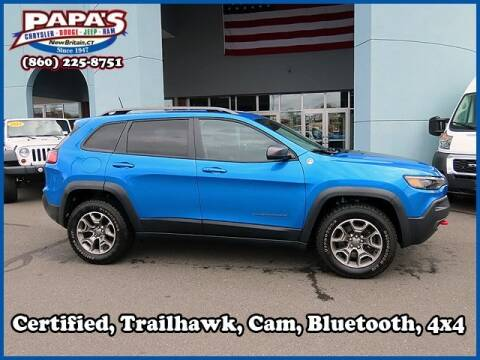 2020 Jeep Cherokee for sale at Papas Chrysler Dodge Jeep Ram in New Britain CT