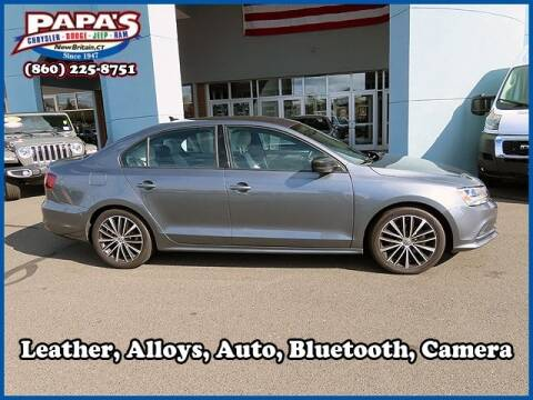2016 Volkswagen Jetta for sale at Papas Chrysler Dodge Jeep Ram in New Britain CT