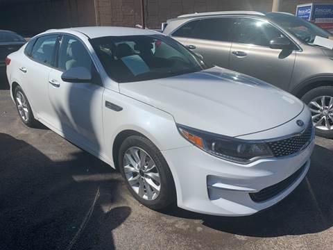 2016 Kia Optima for sale at New Start Auto in Richardson TX