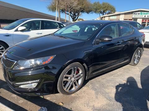 2013 Kia Optima for sale at New Start Auto in Richardson TX