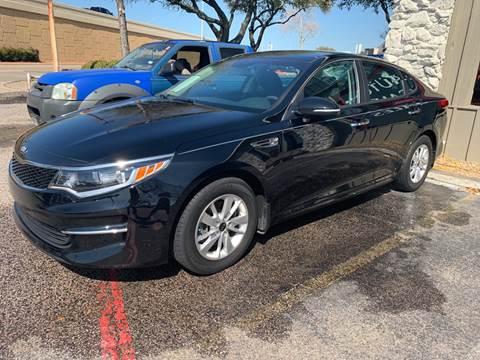 2017 Kia Optima for sale at New Start Auto in Richardson TX