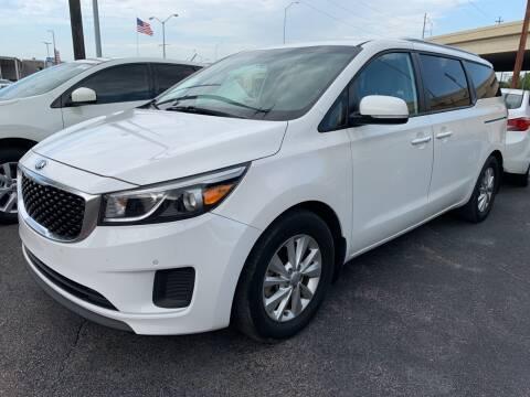 2017 Kia Sedona for sale at New Start Auto in Richardson TX